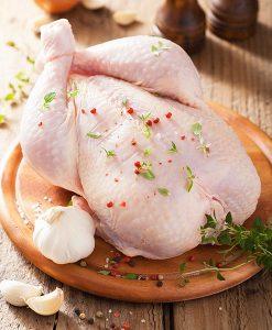 poulet biologique entier